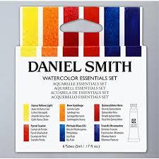 daniel smith tube essentials watercolour 5ml set of 6