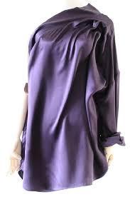 purple silk blouse haider ackermann purple shoulder silk blouse size 10 m tradesy