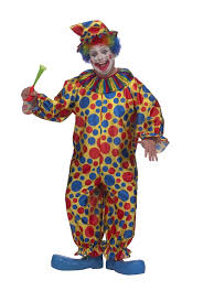 clown jumpsuit adults plus size clown costume costumes 4u
