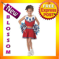 Kids Cheerleader Halloween Costume Girls U0027 Cheerleader Costumes Ebay