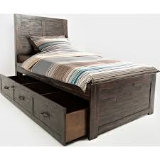Captain Bed With Trundle Jofran 1605 62636465kt Jackson Lodge Twin Bed W Trundle In