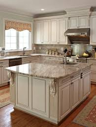 Kitchen With Antique White Cabinets Antique Furniture - White cabinets kitchen