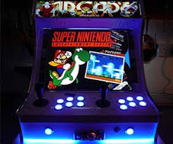 Turn A Coffee Table Into An Awesome Two Player Arcade Cabinet by Arcade Machines