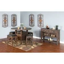 Wolf Furniture Outlet Altoona by Rustic Pine Server With Seeded Glass Doors By Sunny Designs Wolf