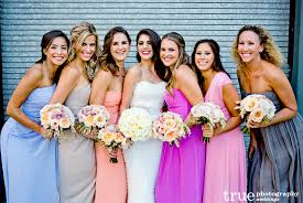 bridesmaid dress colors mix matched and multi colored bridesmaid dresses from our
