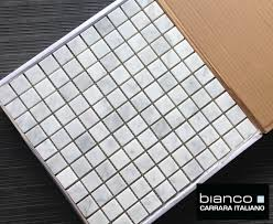 Marble Mosaic Floor Tile Italian Honed 1 1 U2033 Square Marble Mosaic Tile The Builder Depot Blog