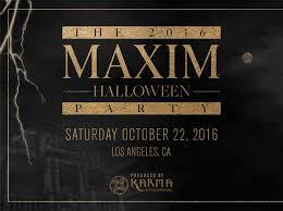 the 2016 maxim halloween party la guestlist