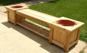 bench deck box impressive patio deck box with seat creative garden