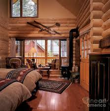 log home interior resort log cabin interior photograph by robert pisano
