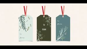 design holiday gift tags in adobe illustrator youtube