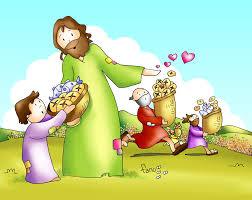 imagenes de jesucristo animado vídeo animado para niños del evangelio del domingo 26 07 15 juan 6