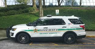 florida orange county sheriff department ford utility