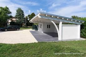 tettoie per auto in legno per auto modello
