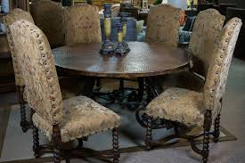 copper top dining room tables 2 piece copper top round table too good to be threw