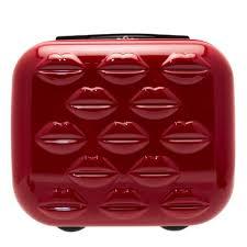 Women S Vanity Buy Lulu Guinness Womens Red Hard Sided Lips Vanity Case At Hurleys