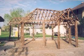 Tiki Hut Material How To Build A Tiki Bar Tiki Bar Construction Tropical Backyards