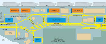 map port port of miami map south magazine