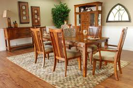 mission dining room table home design ideas