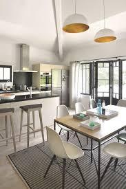 table comptoir cuisine cuisine ouverte avec comptoir idées de table linzlovesyou