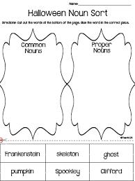 halloween noun sort halloween tips and teaching