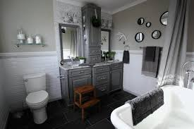 Bathroom Makeovers Before And After Pictures - before and after grey and white traditional bathroom makeover