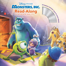 monsters storybook cd disney books disney