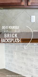 kitchen rosa beltran design diy painted tile backsplash paint ki full size of