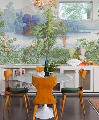 Wallpaper Designs For Dining Room 5 Tips For Choosing A Wallpaper You Won U0027t Get Tired Of Camille
