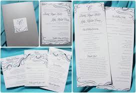 invitation design programs turquoise purple silver swirls dots pocketfold wedding