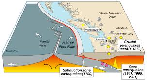 Earthquake Map Oregon by Earthquake