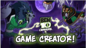cartoon network games ben 10 omniverse game creator
