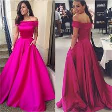 off shoulder a line simple cheap party cocktail evening long prom