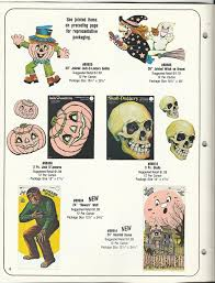 1981 eureka halloween decorations catalog vintage holiday