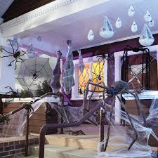 scary outdoor halloween decorating ideas halloween themed runner