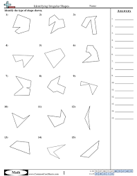geometric shapes worksheets worksheets