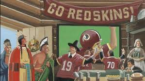 liberal media attacks the washington redskins thanksgiving message