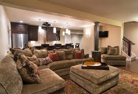 cozy home interiors cozy home theater traditional basement chicago by kristin
