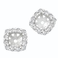 earring jackets for studs midwest diamond distributors diamond earring jackets to hold