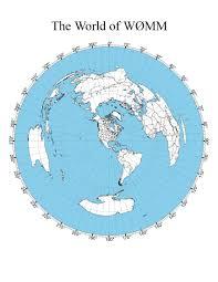 Azimuthal Map Pix W0mm