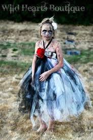 Zombie Princess Halloween Costume Zombie Princess Tutu Dress Blood Red Rose Zoesbowtique7