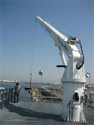 Pedestal Crane Davit Marine Products U2022 Marine Cranes