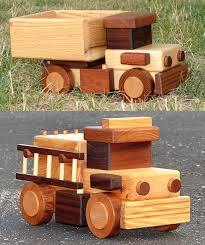 build big wood toy trucks drewniane zabawki pinterest toy