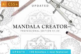 Home Designer Pro For Sale Mandala Creator Pro For Ai Cs5 Actions Creative Market