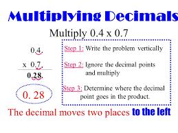 multiplying decimals rounding decimals review and multiplying decimals ppt