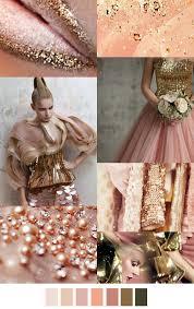 pinterest trends 2016 trend 2016fall winter rosé gold with light peach nuances sources