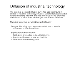 lecture 5 technology diffusion and technology transfer