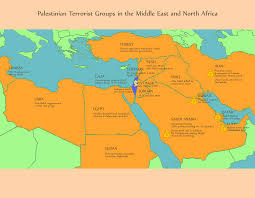 The Middle East Map by Camera Quantifying The Israeli Palestinian Conflict U0027s Importance