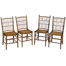 Wicker Dining Chairs Wicker Dining Chairs At Each End Of The - Wicker dining room chairs