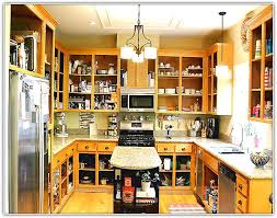 Open Kitchen Cabinet Designs Kitchen Ideas No Cabinets Video And Photos Madlonsbigbear Com