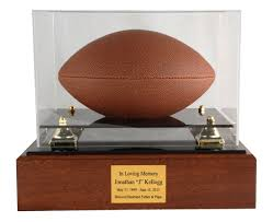 custom urns football urns sports urns in the light urns